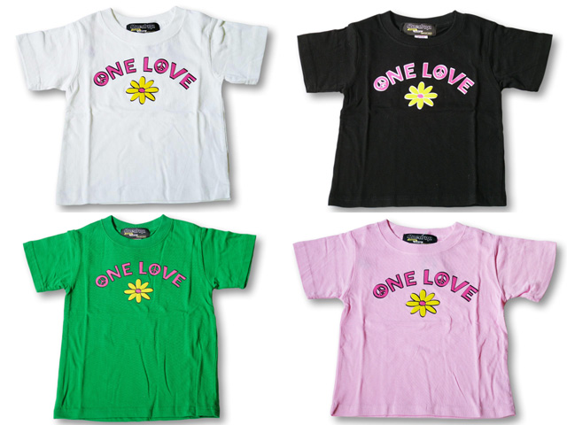 【FINAL SALE!】ONE DROP ONE LOVE Tシャツ