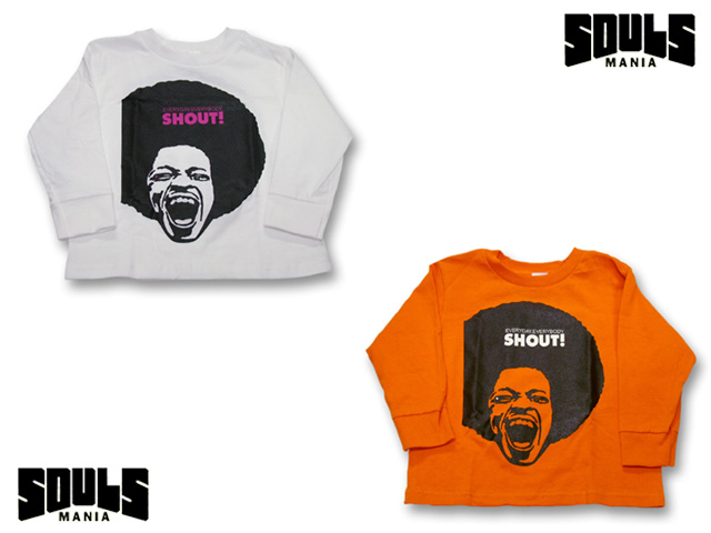 【FINAL SALE!】SOULS MANIA SHOUT!長袖Tシャツ