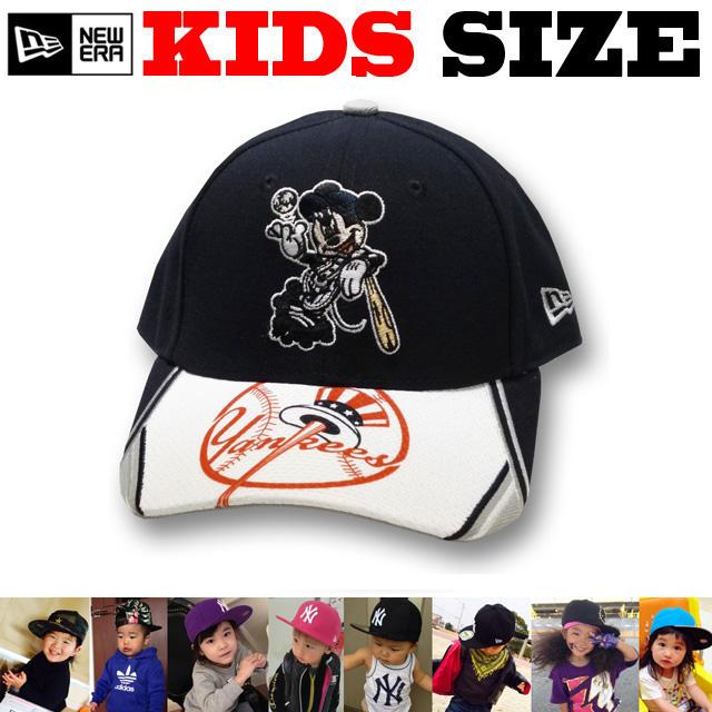 【激安セール!30%FF!】日本未発売モデル!NEW ERA KIDS(YOUTH) 9FORTY MICKEY YANKEES SNAPBACK CAP【ニューエラ キッズサイズ キッズダンス衣装 帽子】