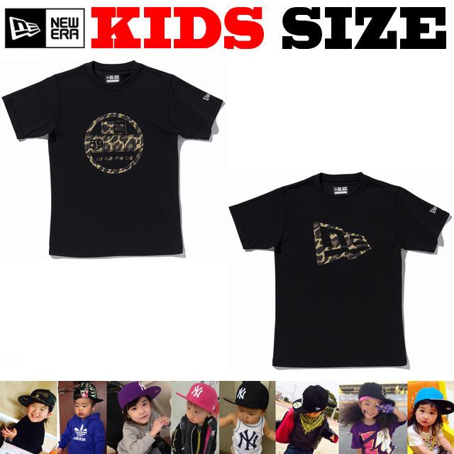NEW ERA KIDS BROWN LEOPARD PERFORMANCE コットンTシャツ【ニューエラ キッズサイズ キッズダンス衣装】
