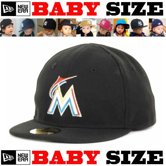 【ニューエラ ベビーサイズ 】 NEW ERA MY 1ST 59FIFTY CAP 【カスタムモデル! Newera baby ベビー キャップ】