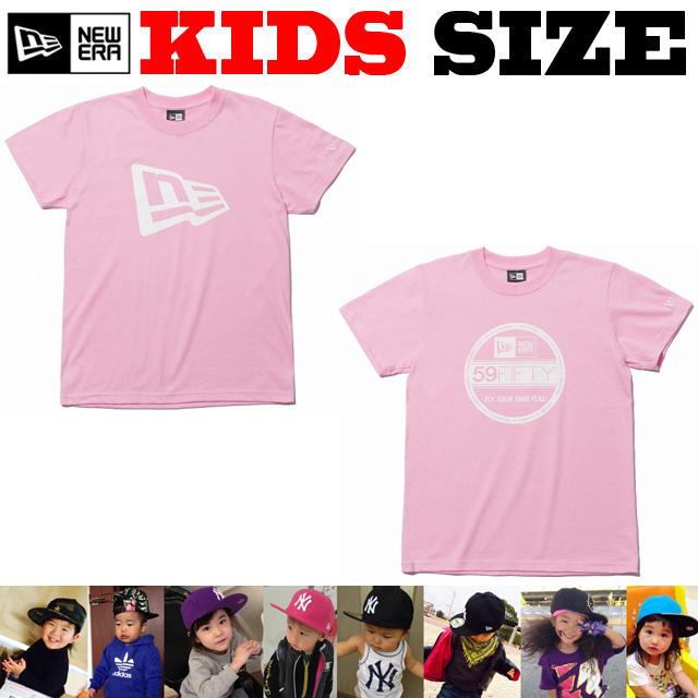NEW ERA KIDS コットンTシャツ【ニューエラ キッズサイズ キッズダンス衣装】