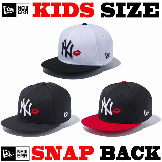 NEW ERA KIDS YOUTH 9FIFTY LIP SNAPBACK CAP 【newera ニューエラ キッズサイズ キッズダンス衣装 帽子 キッズ キャップ 】