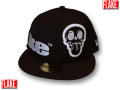 FLAKE NEW ERA KIDS 59FIFTY MAD SKULL CAP���ڥե쥤�� �˥塼���� ���å������� ���å����󥹰�����