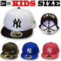 【激安セール!30%OFF!】NEW ERA KIDS 59FIFTY UNDER VISOR CAP  【ニューエラ キッズサイズ キッズダンス衣装】