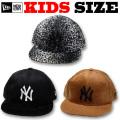 【激安セール 50%OFF!】NEW ERA KIDS YOUTH 9FIFTY SYNTHETIC FUR SNAPBACK CAP【ニューエラ キッズサイズ キッズダンス衣装】