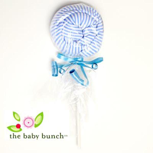 ベビーバンチロリポップキャンディーベビーロンパース【blue】0-6m/ブルー/赤ちゃん/肌着