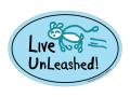 ドッグオーナー用 カー・マグネット Live Unleashed!