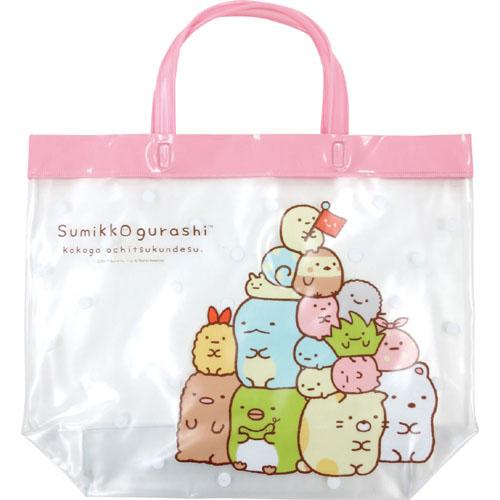 すみっコぐらし サマーバッグシリーズ レッスンバッグ(ピンク)
