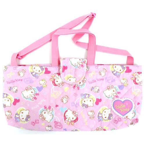 サンリオ ハローキティ(Hello Kitty) キルト鍵盤ハーモニカバッグ ピンク