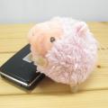 baby strap ひつじ(ピンク) マスコットストラップ
