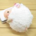 baby strap ひつじ ハイビスカス(ホワイト) マスコットストラップ