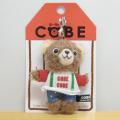 COBE COBE(コービーコービー) ぬいぐるみストラップ サスペンダー
