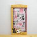 リサとガスパール(リサ&ガスパール) iPhone6対応 シェルジャケット(総柄) ハードタイプ