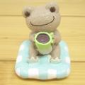 カエルのピクルス(かえるのピクルス) シュシュピクルス クラフトシリーズ レジンドール コーヒー(モカ)