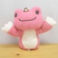 カエルのピクルス(かえるのピクルス) いつも一緒 指人形(ピンク)