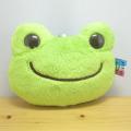 カエルのピクルス(かえるのピクルス) ボンジュールピクルスシリーズ パスケース(グリーン)