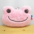 カエルのピクルス(かえるのピクルス) ボンジュールピクルスシリーズ パスケース(ピンク)
