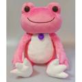 カエルのピクルス(かえるのピクルス) ボンジュールピクルスシリーズ ぬいぐるみMサイズ(ピンク)
