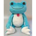 カエルのピクルス(かえるのピクルス) ボンジュールピクルスシリーズ ぬいぐるみMサイズ(ブルー)