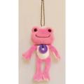 カエルのピクルス(かえるのピクルス) ボンジュールピクルスシリーズ マスコット(ピンク)