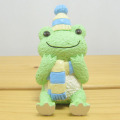 カエルのピクルス(かえるのピクルス) クラフトシリーズ アーカイブコレクション レジンドール ニットマフラー(緑)