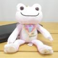 カエルのピクルス(かえるのピクルス) ビジューシリーズ マスコット(ピンクサファイア)
