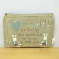 le Sucre(ル シュクル) ポケット収納エコバッグ お気に入り(ベージュ)
