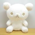 リラックマ モノクロリラックマテーマシリーズ ぬいぐるみ(ホワイト)