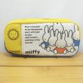 ディック・ブルーナ miffy(ミッフィー) ポケット付きボックスペンポーチL(イエロー)