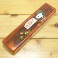 PEANUTS(ピーナッツ) スヌーピー(SNOOPY) 箸&スプーンセット(OUTDOOR)