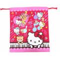 サンリオ ハローキティ(Hello Kitty) 巾着S ローズピンク