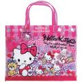 サンリオ ハローキティ(Hello Kitty) ビーチバッグ(マチあり) ローズピンク