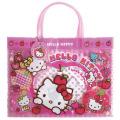 サンリオ ハローキティ(Hello Kitty) ビーチバッグ(マチあり) ピンク