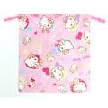 サンリオ ハローキティ(Hello Kitty) 巾着M ピンク