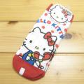 サンリオ ハローキティ(Hello Kitty) メッシュソックス 電話デザイン 赤 【靴下 レディース】
