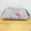 サンリオ ハローキティ(Hello Kitty) がま口ポーチ スウェット風