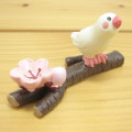 DECOLE(デコレ) concombre(コンコンブル) まったりマスコット お花見シリーズ 桜の枝文鳥