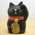 DECOLE(デコレ) fukumono(フクモノ) concombre うとうと招き猫(黒猫)