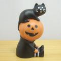 DECOLE(デコレ) concombre(コンコンブル) HELLO,HALLOWEEN まったりマスコット 猫に好かれるかぼちゃ