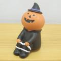 DECOLE(デコレ) concombre(コンコンブル) まったりマスコット HALLOWEEN PARTY 腰掛け かぼちゃ