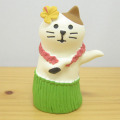 DECOLE(デコレ) concombre(コンコンブル) 旅猫 in HAWAII 三毛猫フラダンス