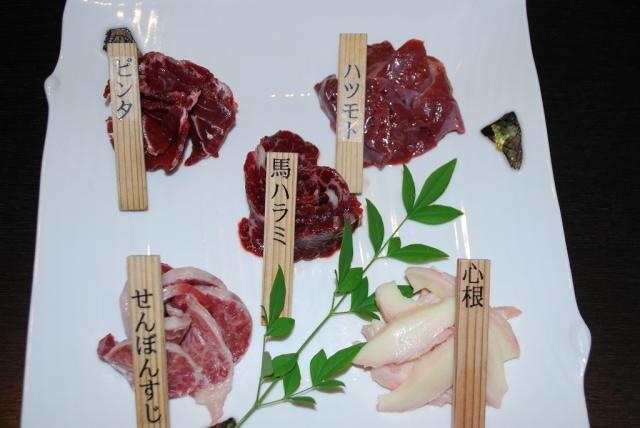 馬焼肉セット(しっかり派)
