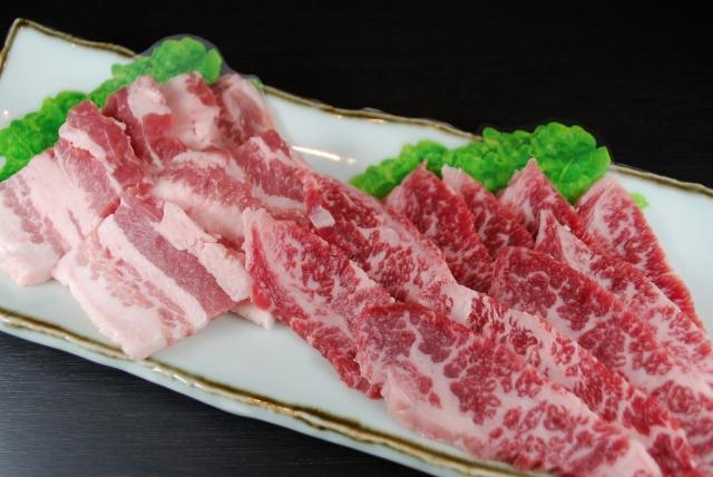 焼肉セット(梅肉ポーク100g・桜黒牛100g)