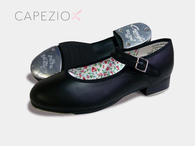 Capezio(カペジオ)タップシューズ3800 MARYJANE・BLACK/黒レザー(子供用 21.5cmまで)