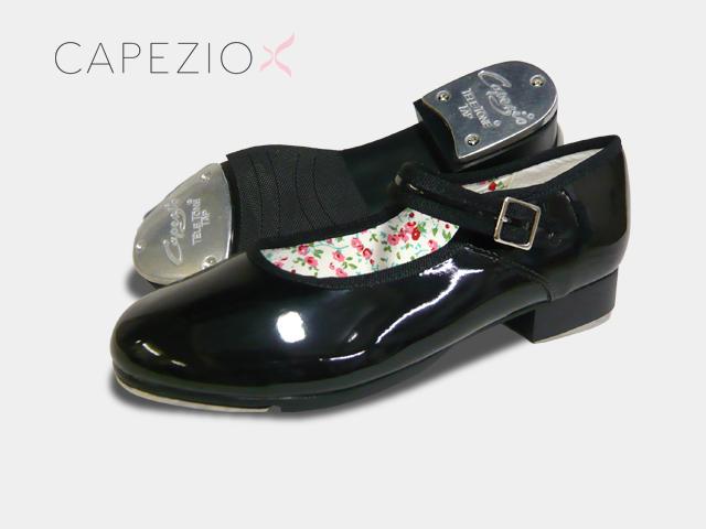 Capezio(カペジオ)タップシューズ3800 MARYJANE・PAT/エナメル(子供用 21.5cmまで)