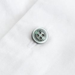【名入れボタンセット】ES200 10mm ベーシックカラーセット 名入れオーダーボタン 5色×15個 合計75個セット
