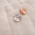 【丸型(定番)】あわび貝ボタン#00104 2穴15mm