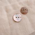 【丸型(定番)】あわび貝ボタン#00104 2穴18mm
