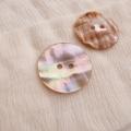 【丸型(定番)】あわび貝ボタン#00104 2穴30mm
